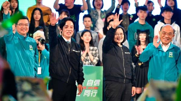 台湾大选 民进党 蔡英文