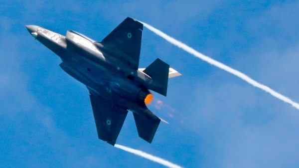 F-35 战机(图片来源:VINCENT JANNINK/ANP/AFP/Getty Images)