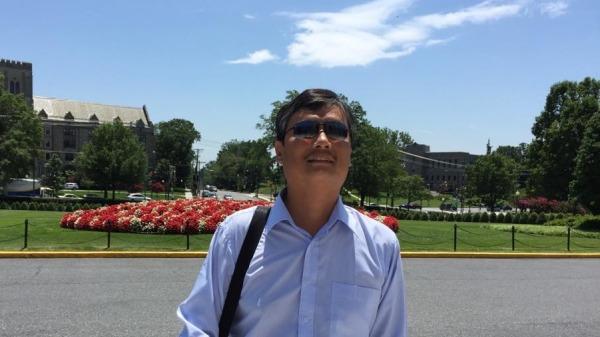 陈光诚:不用自由改变中共 中共就会用独裁来改变世界