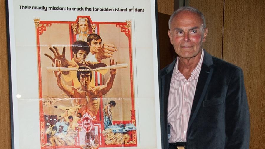 曾与李小龙合作拍摄电影《龙争虎斗》的好莱坞知名男演员约翰・萨克松,因肺炎并发症在田纳西州去世,享年83岁。图为2013年4月17日,萨克松在加利福尼亚州贝弗利山庄,参加在AMPAS塞缪尔・戈德温剧院(Samuel Goldwyn Theatre)举行的美国电影艺术与科学学院40周年放映。
