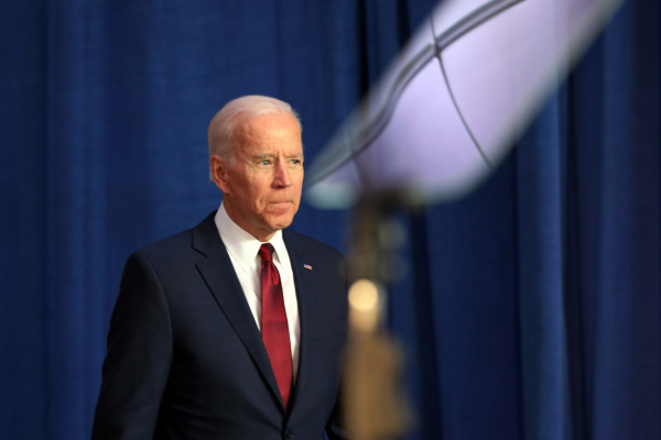 喬·拜登(Joe Biden)。(圖片來源:Spencer Platt/Getty Images)