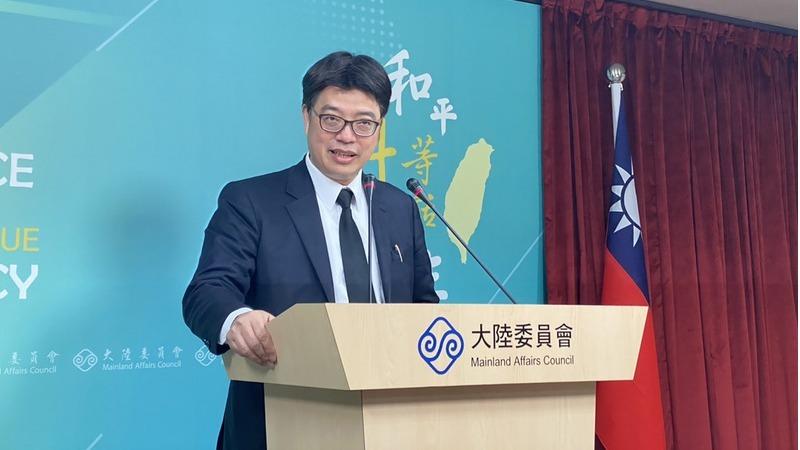 """邱垂正表示,陆委会提醒在中国大陆的台湾民众,要注意中国制疫苗风险资讯,""""也请陆方不要将台湾人民视为疫苗试验的试验品""""。"""