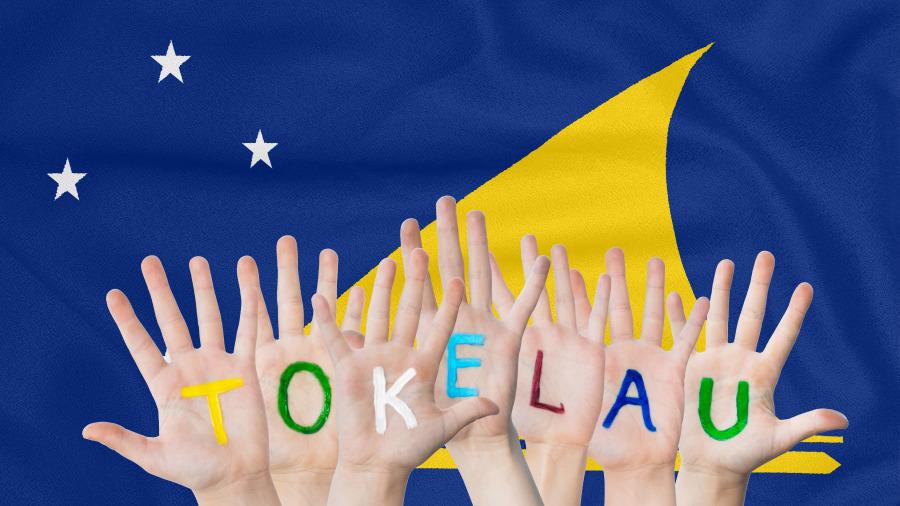 托克勞國旗。