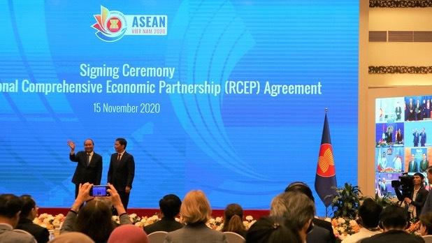 RCEP协定签署
