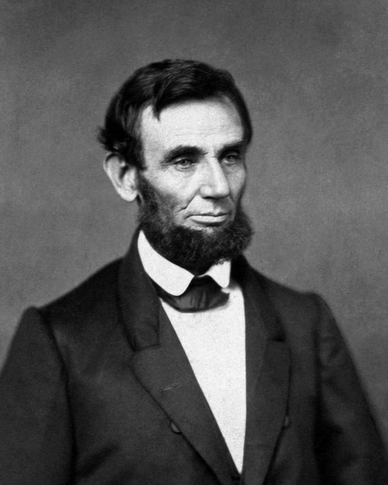 林肯當選總統後的第一張照片。