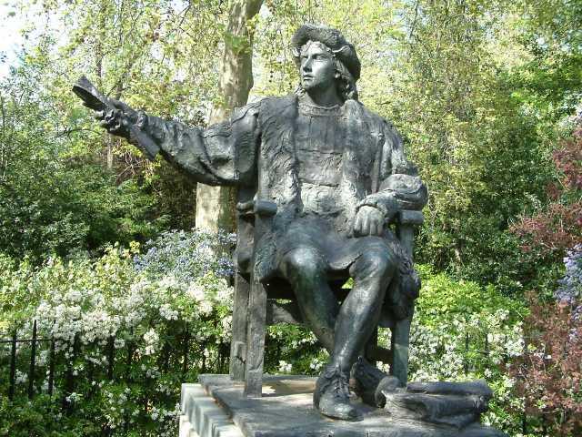 倫敦的哥倫布像。