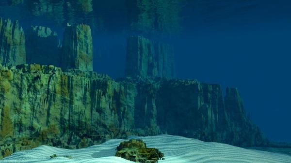 """海底""""建筑""""只是较为特别的天然结构?"""