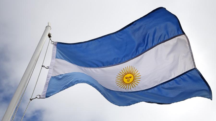 阿根廷國旗。