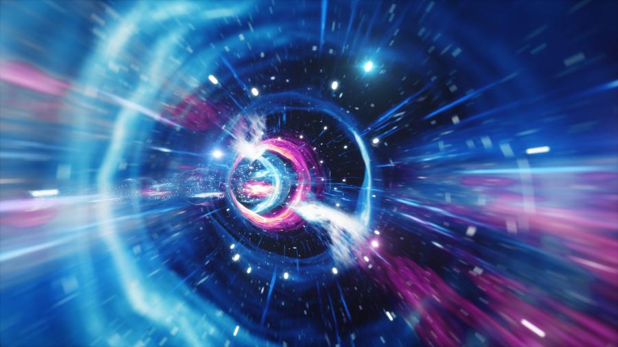 """这些微粒可能是由于飞往人类看不到的""""第五度空间""""或另外空间。"""