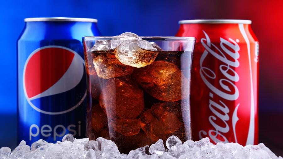 两大软性饮料公司可口可乐和百事可乐