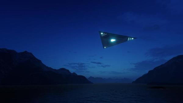 该飞行物体是体积非常巨大的黑三角,估算其跨度至少为1.6公里。