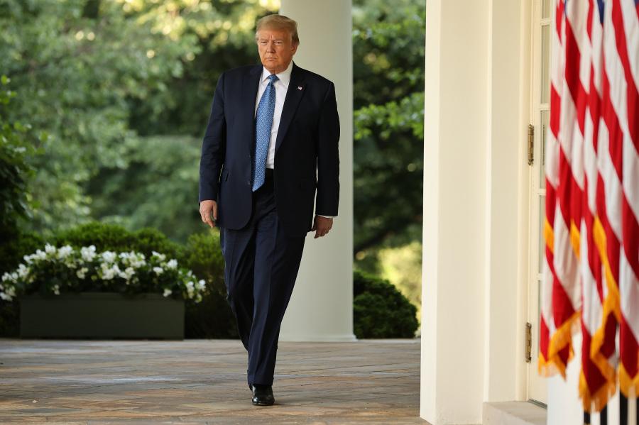 美国总统川普。(图片来源:Chip Somodevilla / Getty Images)