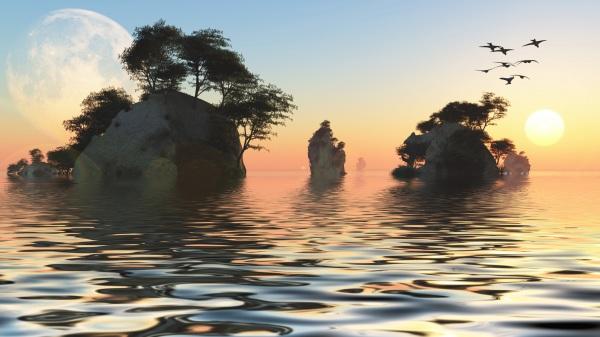「幽靈島」行踪詭秘 突然出現在這些地方(圖)
