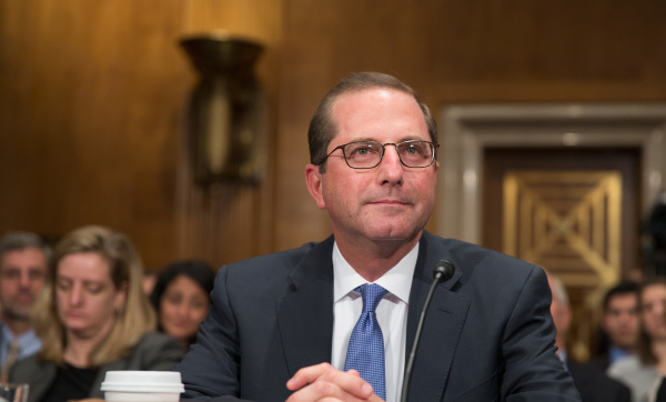 Alex Michael Azar , Health and Human Services Secretary