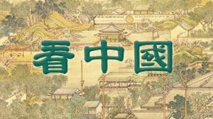 漢文和滿文並書的養心殿匾額。