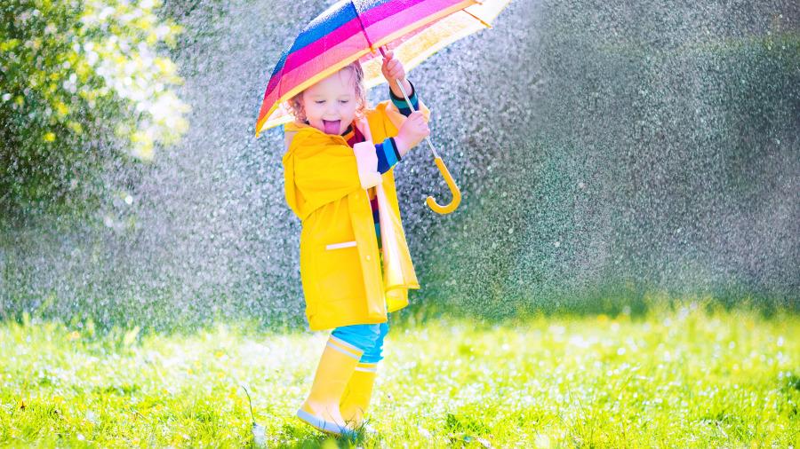 下雨天你最不喜歡淋濕哪裡?