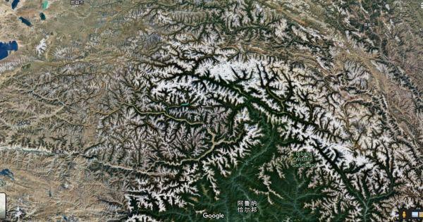 谷歌卫星图1