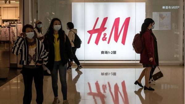 瑞典服饰巨头H&M在北京的一家分店