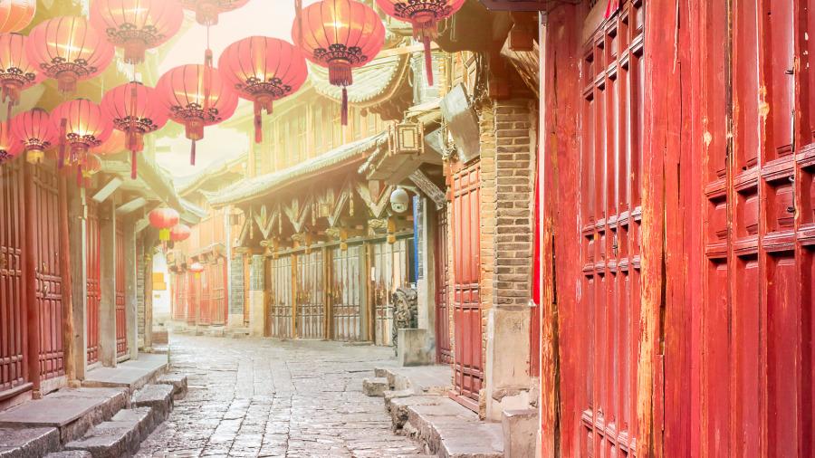 中国传统建筑 房子